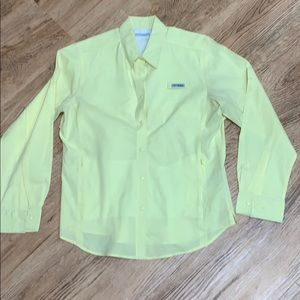 Columbia PFG Yellow Top Size Large